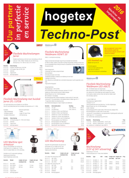 Techno-Post Lampen 2016
